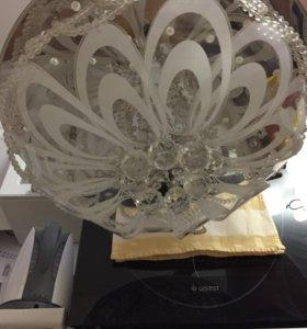 Светодиодная потолочная люстра garlen с пу