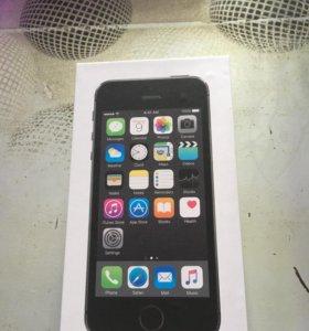 Коробка айфон 5s 16 gb