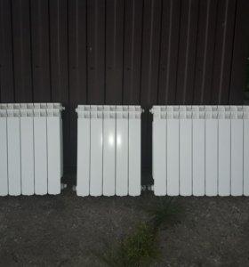 Радиаторы для отопления алюминевые.