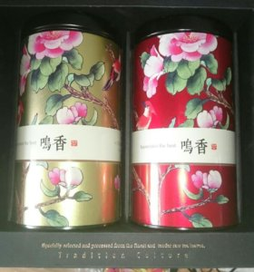 Натуральный зелёный и чёрный чай