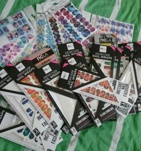 Термопленки NCLA и Ami Nail Wraps для маникюра