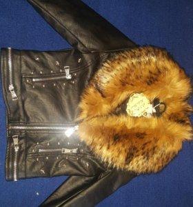 Куртка кожанная 6