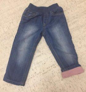 Утепленные джинсы Мазекея 18-24 мес