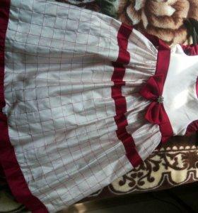 Платье на девочку 116 рост