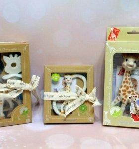 Жирафики Софи новые