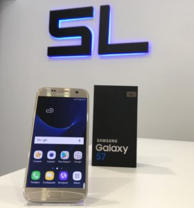 Samsung Galaxy S7 Gold Новый