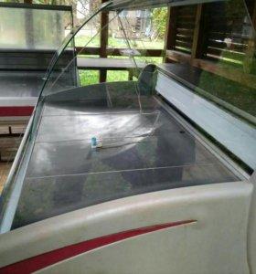 Холодильная витрина Криспи на запчасти