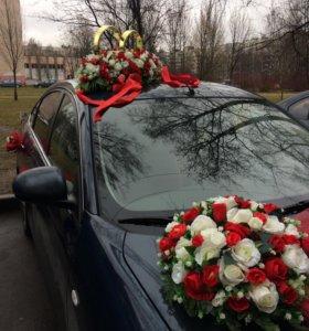 Свадебное Украшение на Машину в аренду