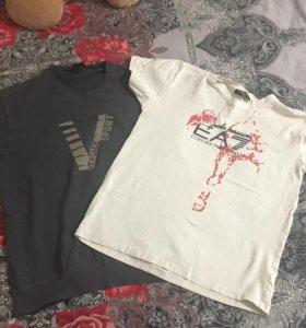 Обе футболки за