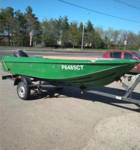 Лодка Ока 4 + мотор 30 + прицеп