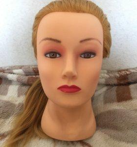 Манекен головы для парикмахера