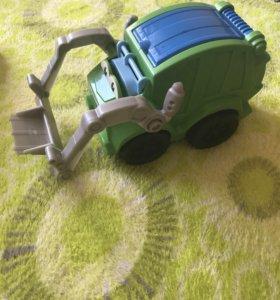 Машинка для игры с пластилином