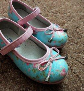 Новые туфли на девочку