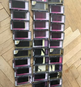 Ресницы для наращивания набор 32 палетки