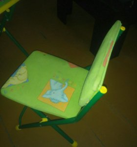 Детский стол для обучения+стульчик