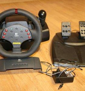 Руль-Logitech Momo Racing