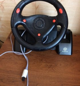 Руль для Sega Dreamcast