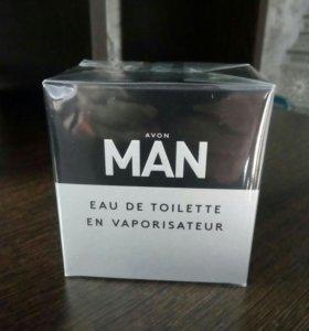 Мужская туалетная вода и гель для душа