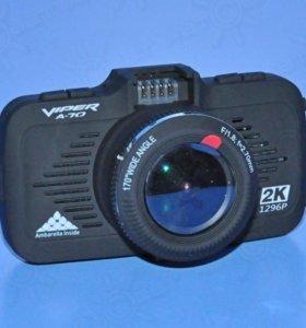 Видеорегистратор с антирадаром VIPER A70