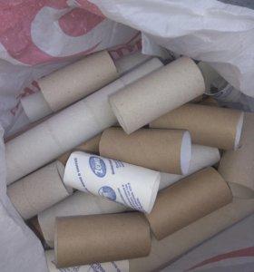 Фтулки от бумаги