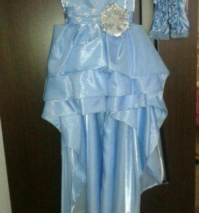 Платье на выпускной для девочки 6-7 лет