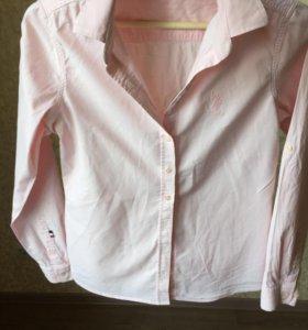 Рубашка хлопковая U.S.Polo