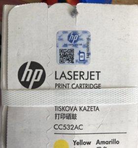 Картриджы новые для HP laserjet