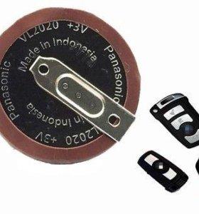 Батарея аккумулятор в ключ BMW VL2020 Panasonic