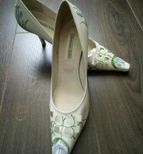 Туфли новые Италия кожа