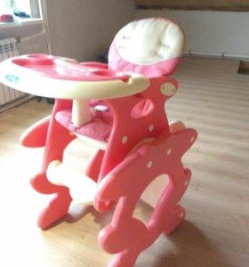 Детский стульчик для кормления/ трансформер