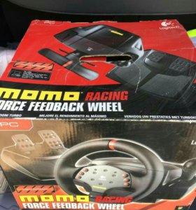 Продам руль игровой Logitech MOMO Racing Force Fee