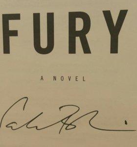 Книга С.Рушди с автографом