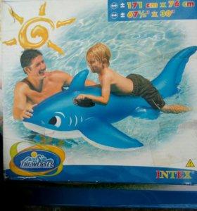 """Надувные игрушки для плавания """"дельфин"""""""