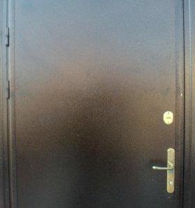 Входная Железная дверь б/у