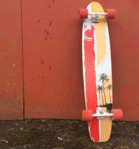Лонгборд Larsen red hawaii