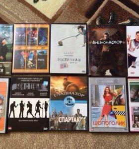 DVD фильмы и музыкальные диски