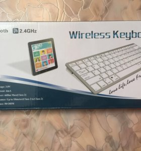 Беспроводная клавиатура BK3002 Wireless Keyboard