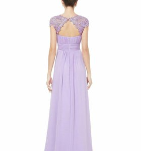 Шикарное нов платье лаванда