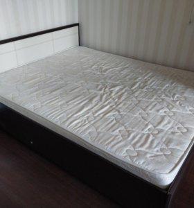 Кровать 160*200 с ортопедическим матрасом Орматек