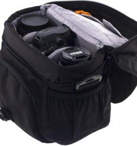 Сумка для фотоаппарата LowePro Nova 160 AW black