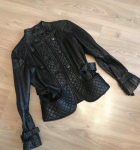Кожаная куртка Zara р.М