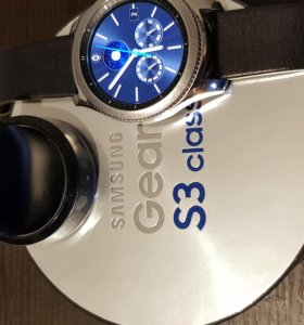 Смарт часы Samsung gear 3 classic