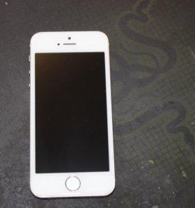 оригинал  iPhone 5s 16 GB золотой