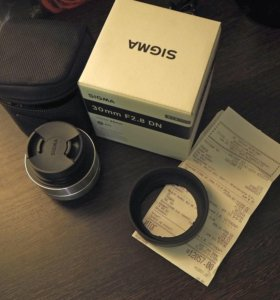 Объектив Sigma AF 30mm f/2.8 Micro Four Thirds