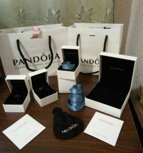 Коробочки, пакеты, ленты Pandora