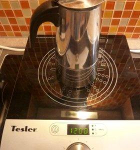 Гейзерная кофеварка (индукция)