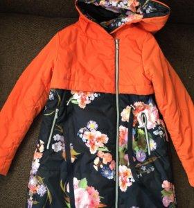 Пальто осень, рост 140