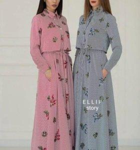 платье новое розовое