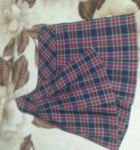 Школьная форма (юбка и жакет)