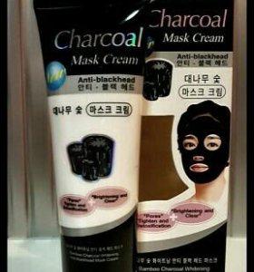 Детокс маска для лица Charcoal с углём бамбука.